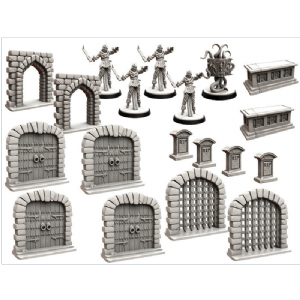 Folklore : The Affliction - Terrain Miniatures Pack 2nd Edition